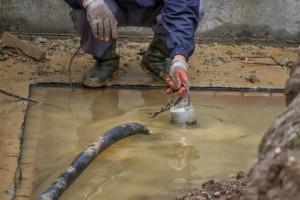 canalisation regard Chantilly